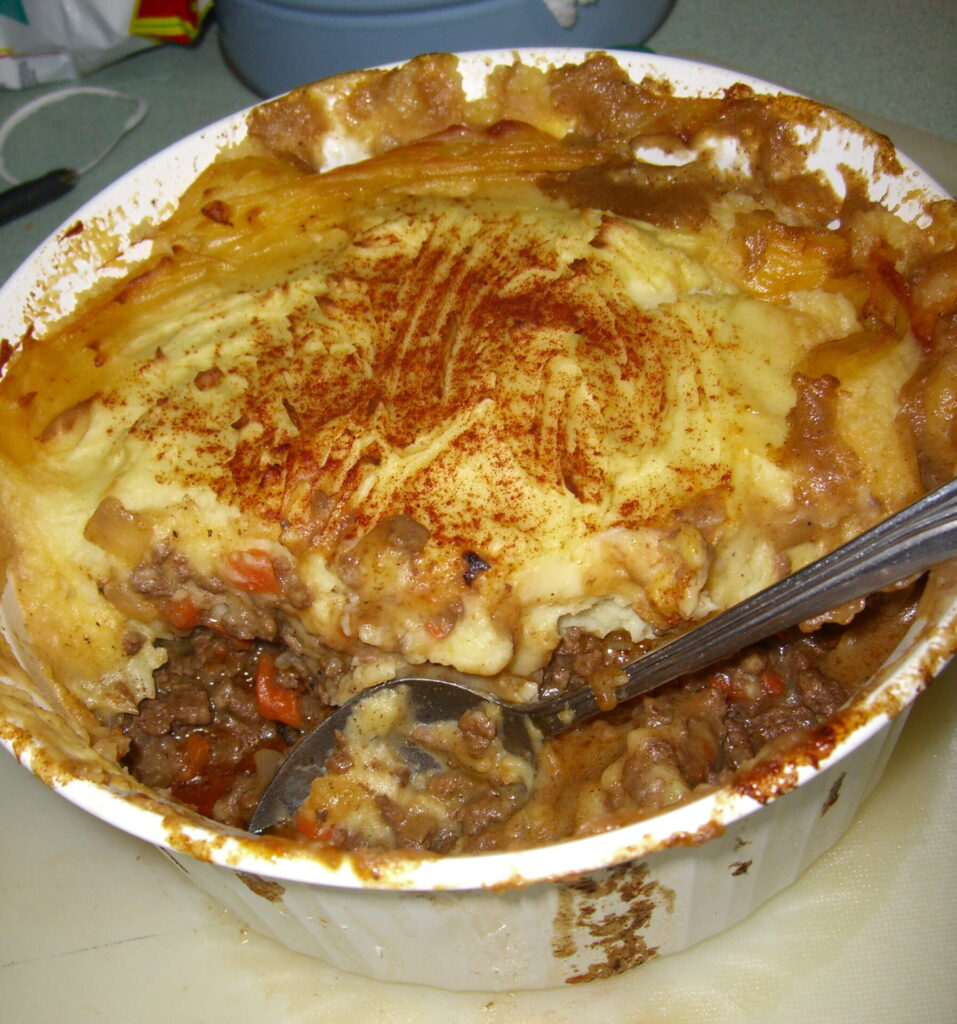 Shepard's Pie (with Mashed Potatoes)